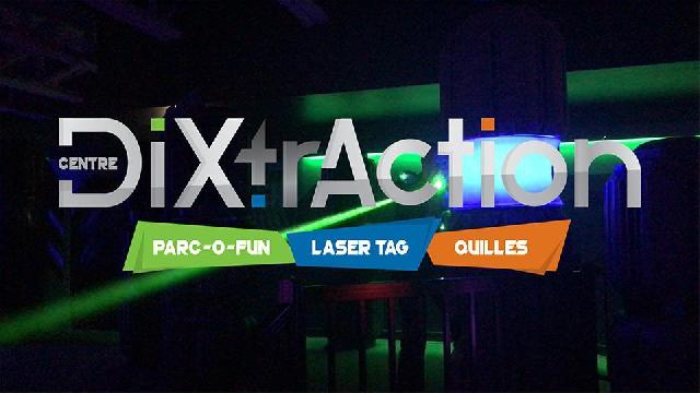 Centre DiXtrAction! - Laser tag