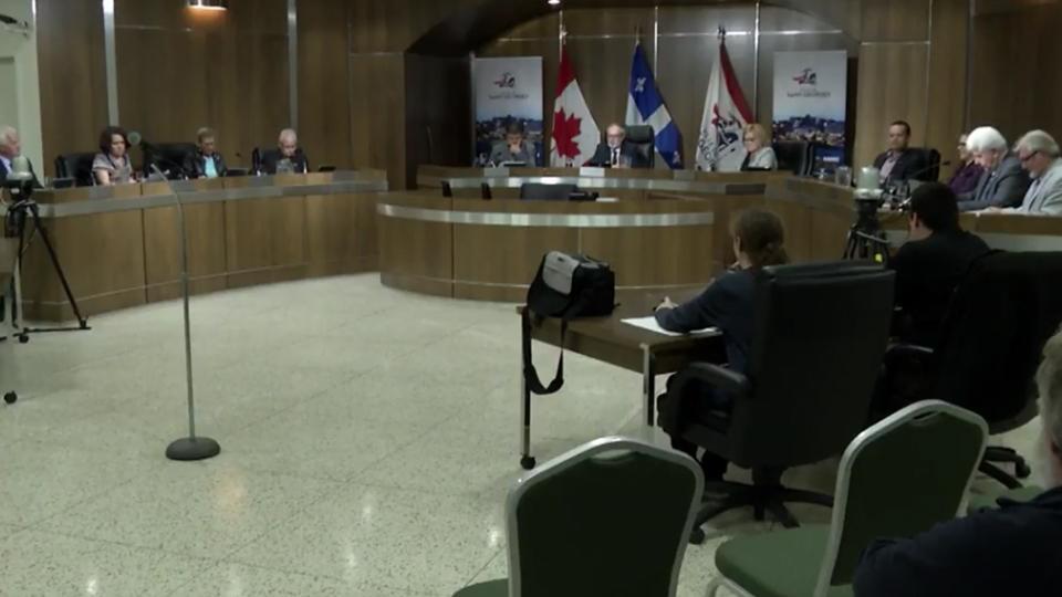 Conseil de ville de Saint-Georges du 9 octobre 2018