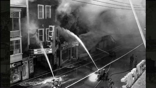 Capsule 125e Thetford Mines – Incendie du Cinéma Bey (1957)