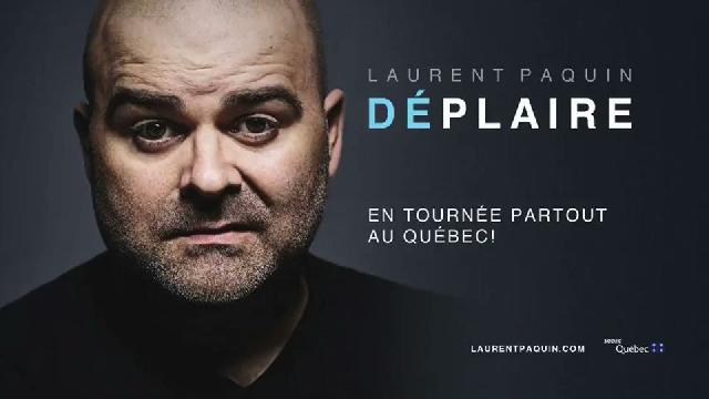Laurent Paquin à Saint-Georges le 21 septembre 2018