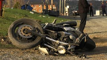 Accident de moto � Beauceville
